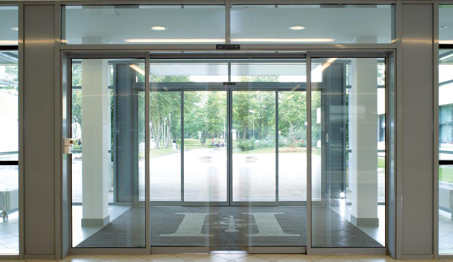 Automatic Sliding Doors In Worthing Brighton Sussex